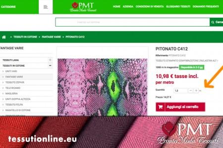 Vendita tessuti e stoffe online for Vendita tessuti arredamento on line