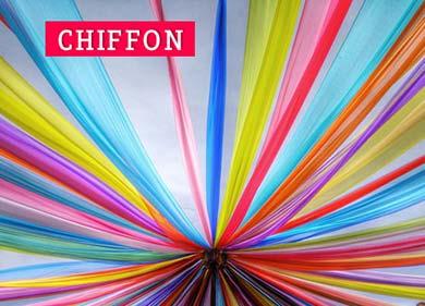 Tessuto Chiffon bellissimo 2020